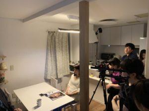 映画プロジェクトの番外編企画撮影風景4