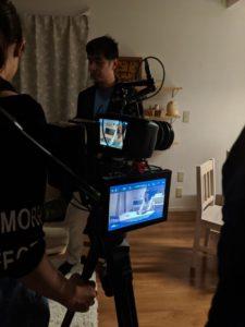 映画プロジェクトの番外編企画撮影風景3